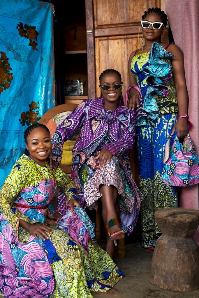 City of Joy collection by Abiola Adeniran-Olusola. © Atong Atem for Vlisco