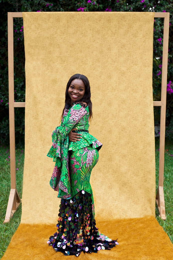 City of Joy collection by Aisha Ayensu. © Atong Atem for Vlisco